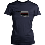 Oklahoma Firefighter Thin Red Line
