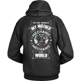 My Mother the Mechanic (back design)
