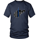 West Virginia Thin-Blue Line - Shoppzee