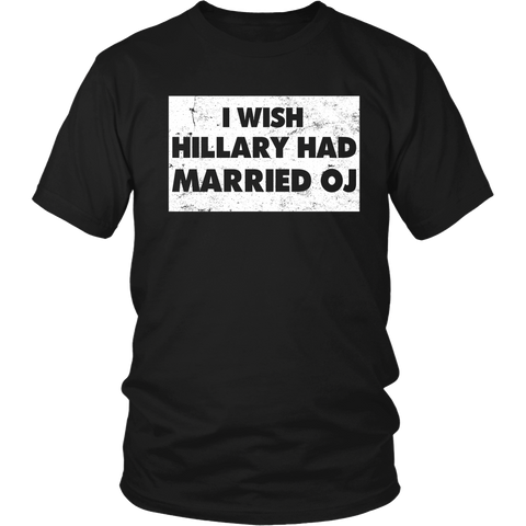 I Wish Hillary Had Married OJ