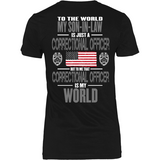 Correctional Officer Son-In-Law (backside design) - Shoppzee