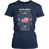 Sister Police Officer (frontside design only)