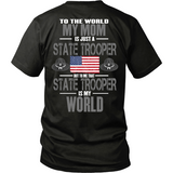 Mom State Trooper (backside design only)
