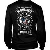 My Grandaughter the Mechanic (backside design)