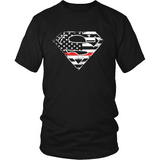 Firefighter Thin Red Line American Superhero