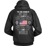 Dad Correctional Officer (backside design) - Shoppzee