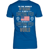 Husband Correctional Officer (backside design)