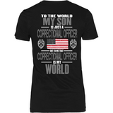 Son The Correctional Officer (backside design