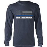 Blue Lives Matter (front design) - Shoppzee