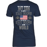 State Trooper Son (backside design only)