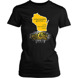 Wisconsin Grown With Cheesehead Roots 2 - Shoppzee