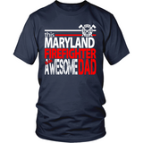 Awesome Maryland Firefighter Dad - Shoppzee