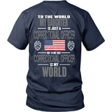 Daughter Correctional Officer (backside design) - Shoppzee