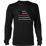 Missouri Firefighter Thin Red Line