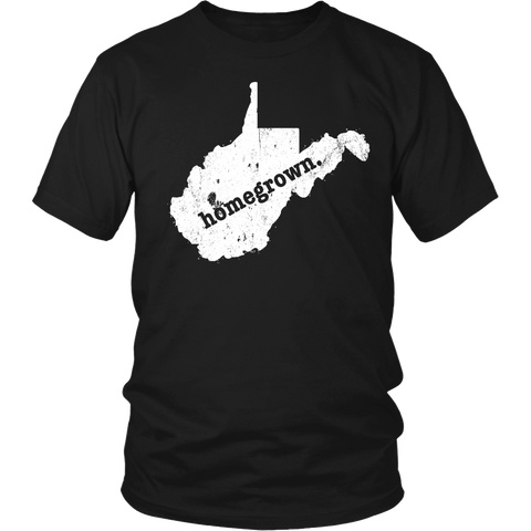 west virginia home shirt, homegrown shirt, west virginia home tshirt