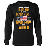 My Sister-In-Law Deputy Sheriff (frontside design)