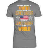 Mother Deputy Sheriff (backside design only)