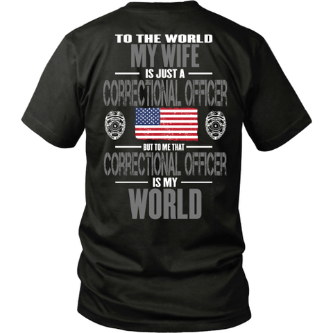 Wife Correctional Officer (backside design)