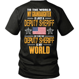 Grandaughter Deputy Sheriff (backside design)