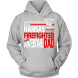 Awesome Kansas Firefighter Dad - Shoppzee