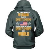 Deputy Sheriff Husband (backside design) - Shoppzee