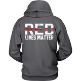 Firefighters Lives Matter (front and back shield)