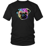 Pug Day of the Dead Inspired Design