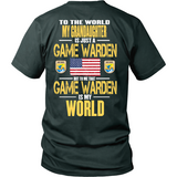 Game Warden Grandaughter