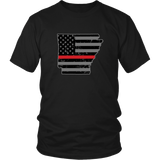 Arkansas Firefighter Thin Red Line - Shoppzee