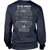 Girlfriend Police Officer (two side design)