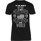 Dad Police Officer (backside design only) - Shoppzee