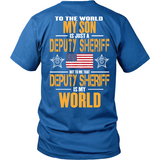 Deputy Sheriff Son (back design) - Shoppzee