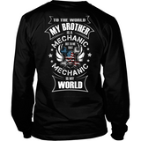 My Brother the Mechanic (backside design)