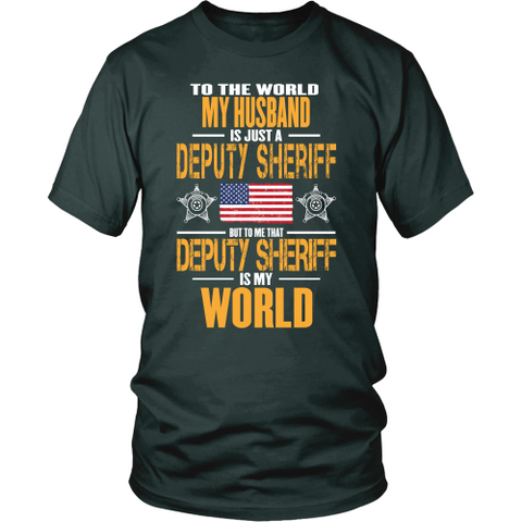 Deputy Sheriff Husband (front design) - Shoppzee