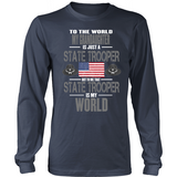 Grandaughter State Trooper (frontside design only)