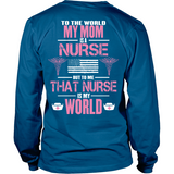 Nurse Mom (backside design only)