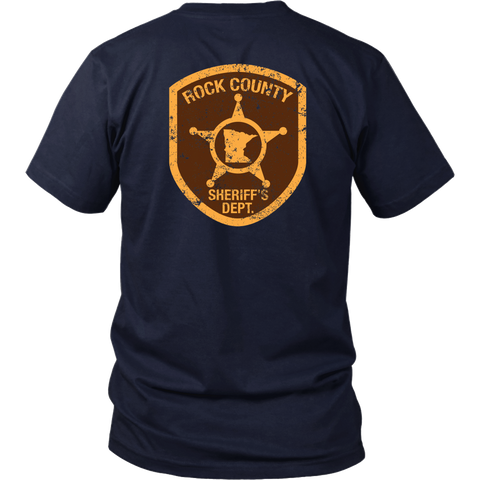 Rock County Sheriff Department (backside design)