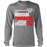 Awesome Missouri Firefigher Dad - Shoppzee