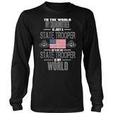 State Trooper Grandmother (frontside design only)