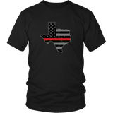 Texas Firefighter Thin Red Line
