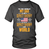 Deputy Sheriff Dad (front design) - Shoppzee