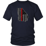 Georgia Firefighter Thin Red Line