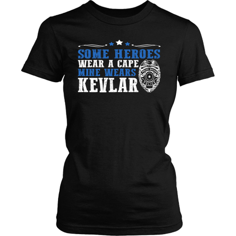My Police Officer Hero Wears Kevlar