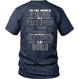 Girlfriend Police Officer (two sided design)