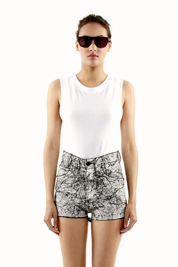 NYLA W Denim Shorts - ELEVEN PARIS WOMEN - 1