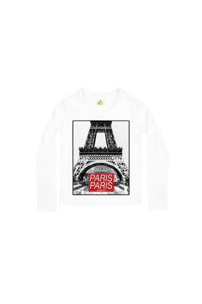 EIFFEL PARIS LS T-Shirt - ELEVEN PARIS KIDS