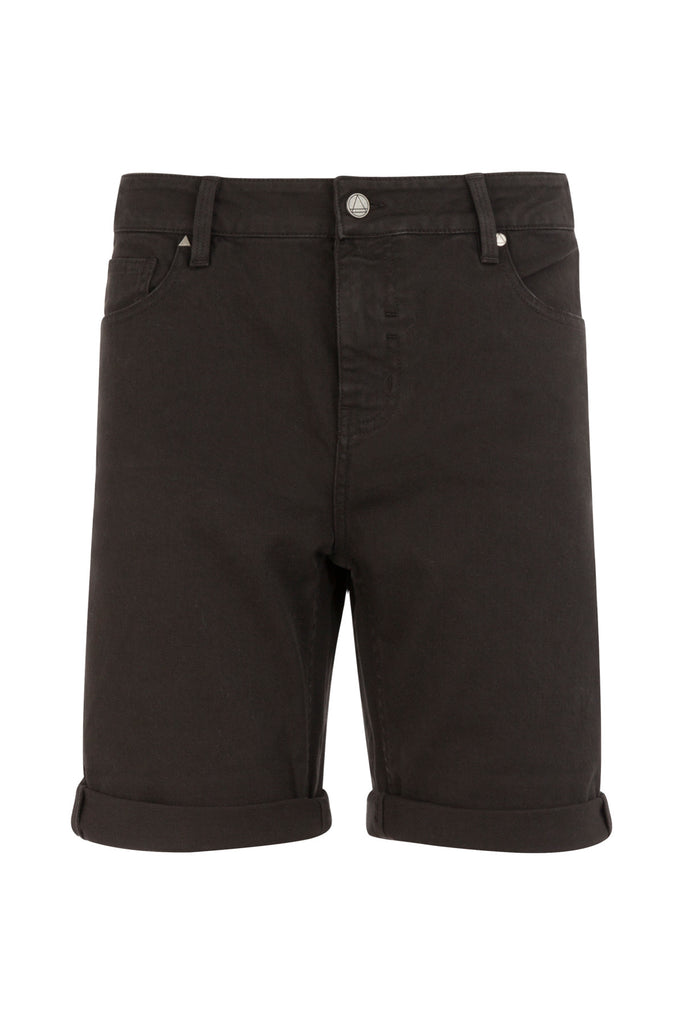 SPIKE Denim Shorts - ELEVEN PARIS MEN - 1
