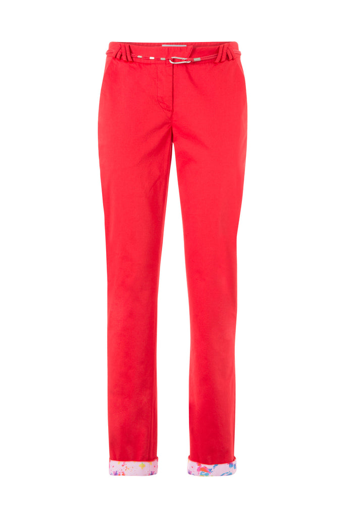 SUMPANDORE Chino Pants - ELEVEN PARIS WOMEN - 1