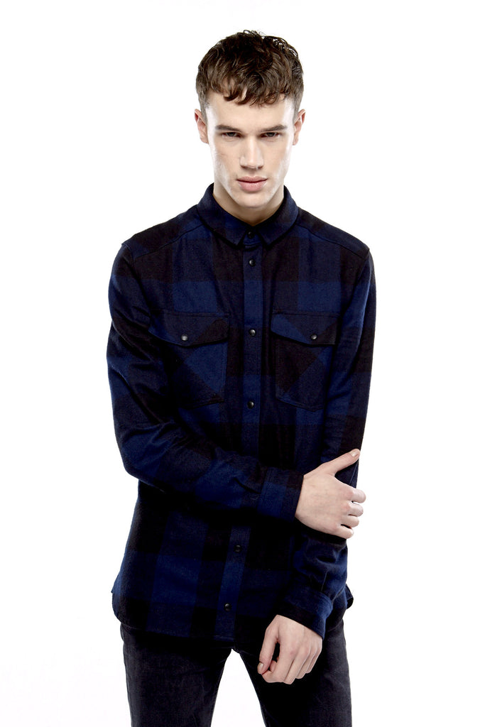 MANDO M Shirt - ELEVEN PARIS MEN - 1