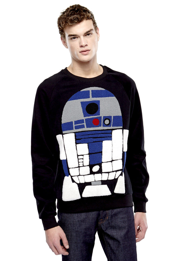 MIDO R2-D2 Sweatshirt - ELEVEN PARIS MEN - 1